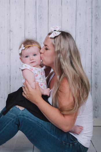 Bandeaux assortis maman et bébé