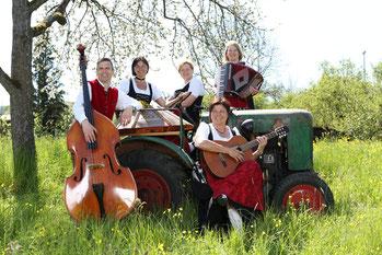 Jakobs-Stubenmusik (Frank Mittnacht, Conny Lehr, Karin Staudt, Jutta Michler und Beate Hofmann-Olkus )