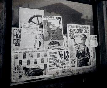 Valgplakater til den forfatningsgivende forsamling, november 1917
