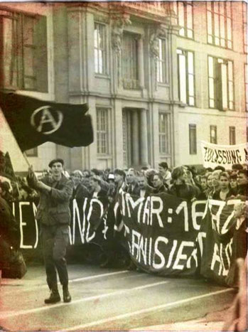 Oppositionsdemo i DDR 1989