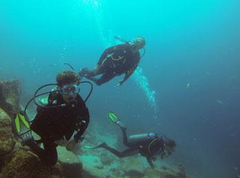 Plongée en famille à l'île Mosquera