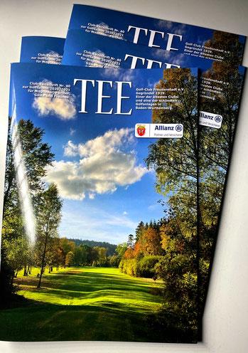 TEE No. 40 für die Golfsaison 2020/2021