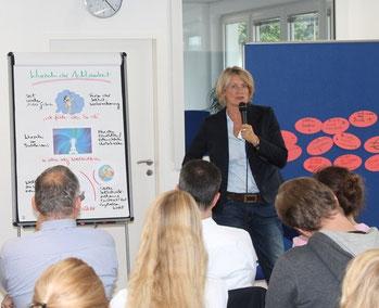 Jutta Hurtig Systemisches Coaching Bonn, Vortrag Achtsamkeit als Coach