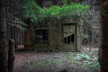LANGSAMER VERFALL – die Hütte in einem Stückle