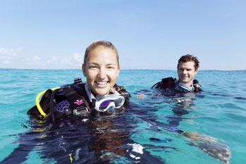 Scuba diving cap ferrat