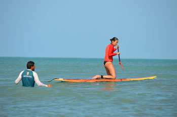 Stand up paddle SUP lesson