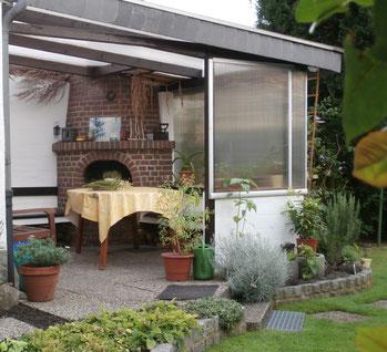 Heilpflanzengarten Oberhausen - Seminarecke