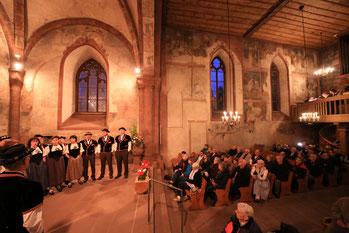 Stimmungsvolles Expertisenkonzert in der St. Arbogastkirche