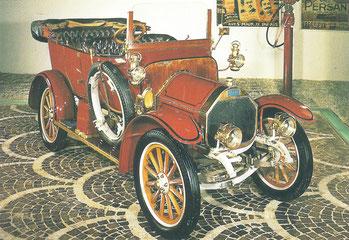 Een Martini GA uit 1912.