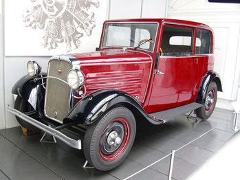 Een Brennabor Type C uit 1931.