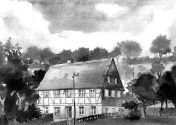 Gelenauer Str. 34 in der 1950er Jahren