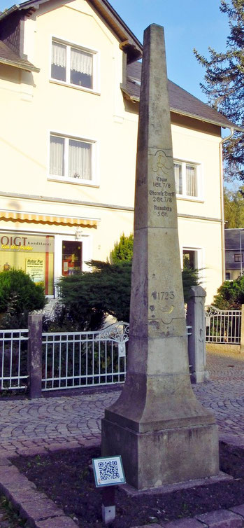 Burkhardtsdorfer Ganzmeilensäule