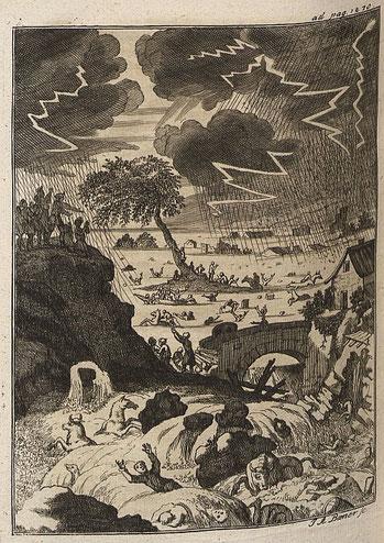 Kupferstich aus der damaligen Zeit Quelle: Deutsche Fotothek