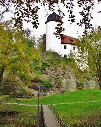 Die Burg im Herbst 2014