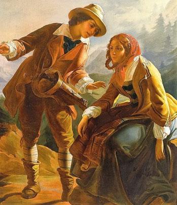 Reisende im 19. Jahrhundert