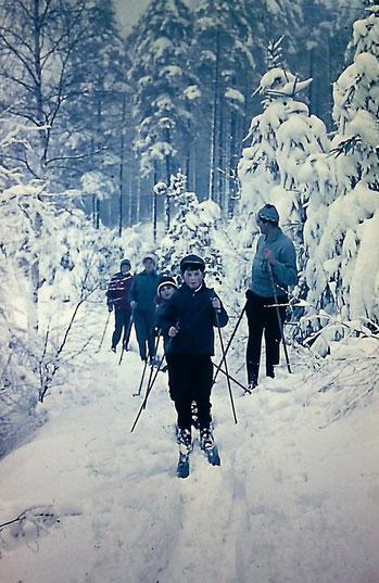 Mit unseren Nachbarn durch den Winterwald