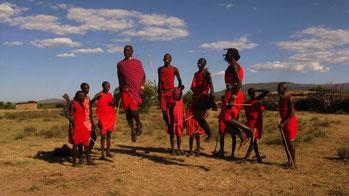 L'adamu, una danza masai.