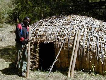 Tipica abitazione Ogiek