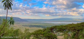 Tramonto sul cratere Ngorongoro