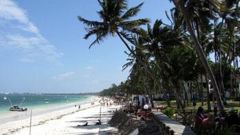 Spiagge a nord di Mombasa - Bamburi Beach