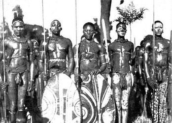 Guerrieri Kikuyu.