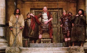 Ponzio Pilato, Gesù e Barabba