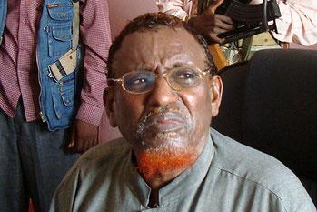 Lo sceicco Hassan Abdullah Hersi al-Turki