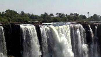Delta del fiume Okavango alle Cascate Vittoria