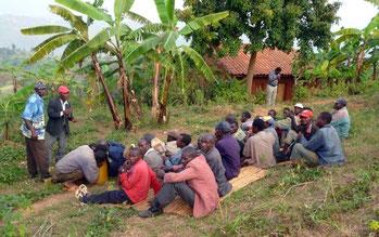 Una festa in Burundi