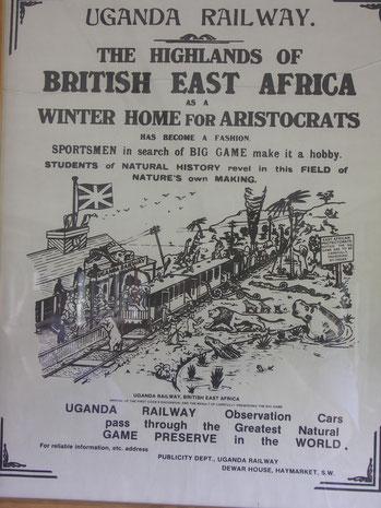 Storia del Kenya - Uganda Railway