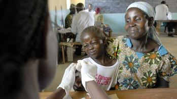 Vaccinazione malaria con il  RTS, S
