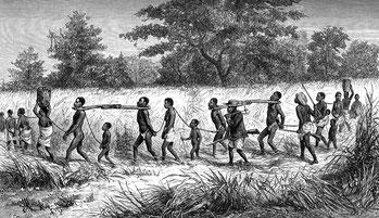 Carovana di schiavi