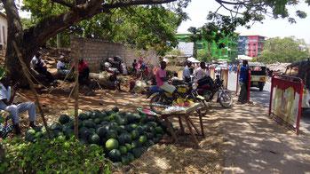 Malindi, Kenya. Vecchio mercato.