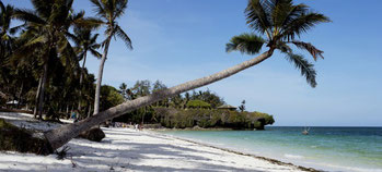 Mombasa beach
