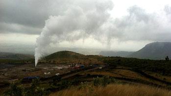 Centrale di energia geotermica - Cratere Menengai, Nukuru-Kenya