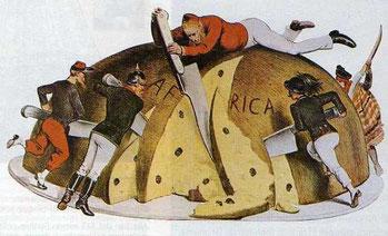 Colonialismo in Africa. La spartizione dell'Africa.