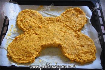 Recette de biscuit pour chien heureux