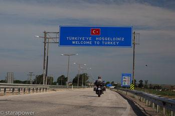 Hos geldiniz - wir sind endlich in der Türkei