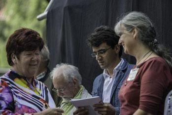 Neudietendorf - Zumba Auftritt beim paritätischen Sommerfest