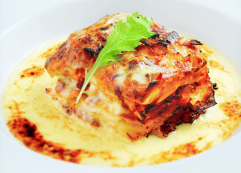 岐阜の小さなイタリアン食堂「アリアンクー」自慢のラザニア