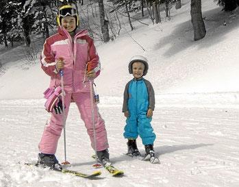 Skihang und Lifte für Kinder