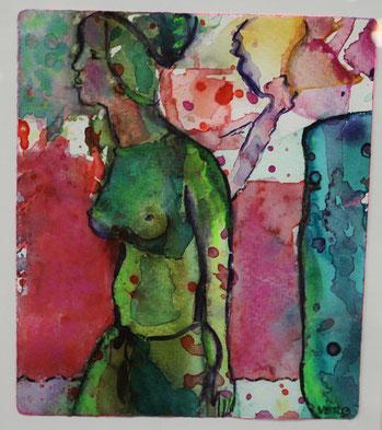 Veronika Emendörfer - Ausstellung 2012 in der Kunsthandlung Langheinz in Darmstadt