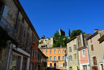 Village médiéval de Bourdeaux - Drôme Provençale