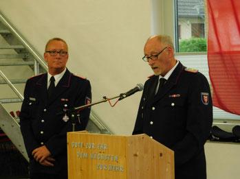 Wolfgang Dörfler (re.) und Reiner Haß bildeten 12 Jahre lang ein gemeinsames Führungsduo