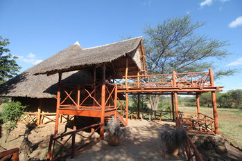 die Rhino Valley Lodge in Tsavo West Kenia