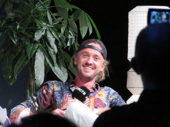Tom Felton at FACTS convention