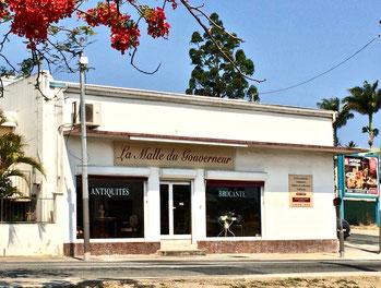 Boutique à Nouméa de La Malle du Gouverneur