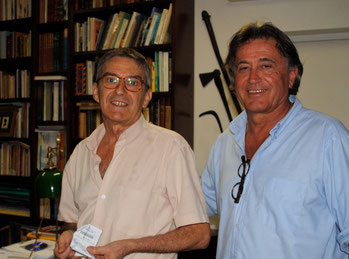 Jean-Claude and Patrick (left to right)