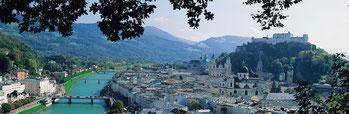 Salzburg in 54 km Entfernung -  ist immer einen Besuch wert