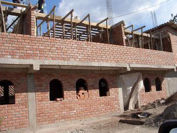 Casa Hogar im Bau